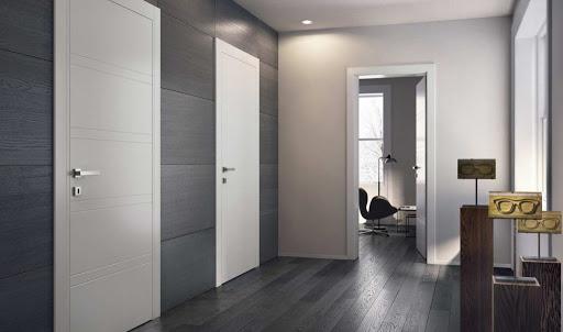 Белые межкомнатые двери